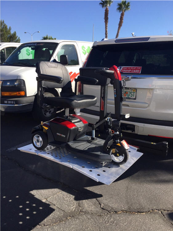 Mobility scooter lifts las vegas las vegas scooters and for Motorized scooter rental las vegas